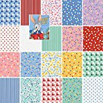 Darlene Zimmerman BUNNY TALES Precut 5-inch Charm Pack Cotton Fabric Quilting Squares Assortment Studio RK CHS-255-42