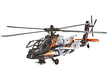 Revell - 64896 - Maquette D'aviation - Ah-64d Apache - 136 Pièces - Echelle 1/48