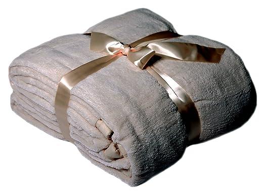 viva xxl microfaserdecke kuscheldecke tagesdecke 220x240. Black Bedroom Furniture Sets. Home Design Ideas