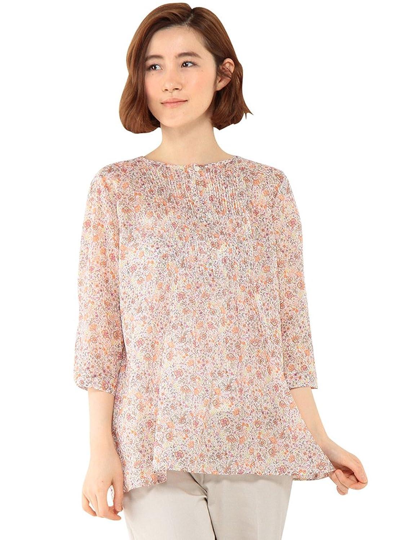 Amazon.co.jp: (デコイ)DECOY ピンタックプリントチュニック: 服&ファッション小物通販