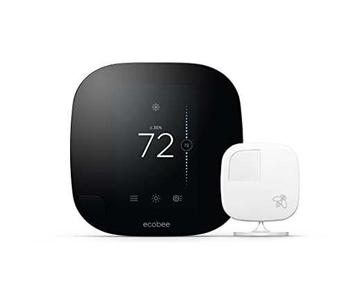 ecobee3 Smarter Wi-Fi Thermostat with Remote Sensor, 2nd Generation - - Amazon.com