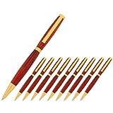 Legacy Woodturning, Slimline Pen Kit, Many Finishes, Multi-Packs (Color: Satin Gold)