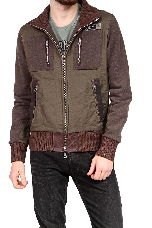 Aeronautica Militare Herren Blouson-Jacke , Farbe: Dunkelbraun günstig