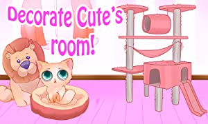Cute: My Virtual Pet - Kitten Care, Bath, Cleanup & Makeover from TutoTOONS
