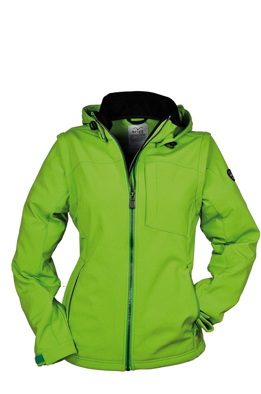 Brigg - Damen Softshell Jacke in verschiedenen Farben - auch als Weste tragbar - F/S 2015 (10 778 492)