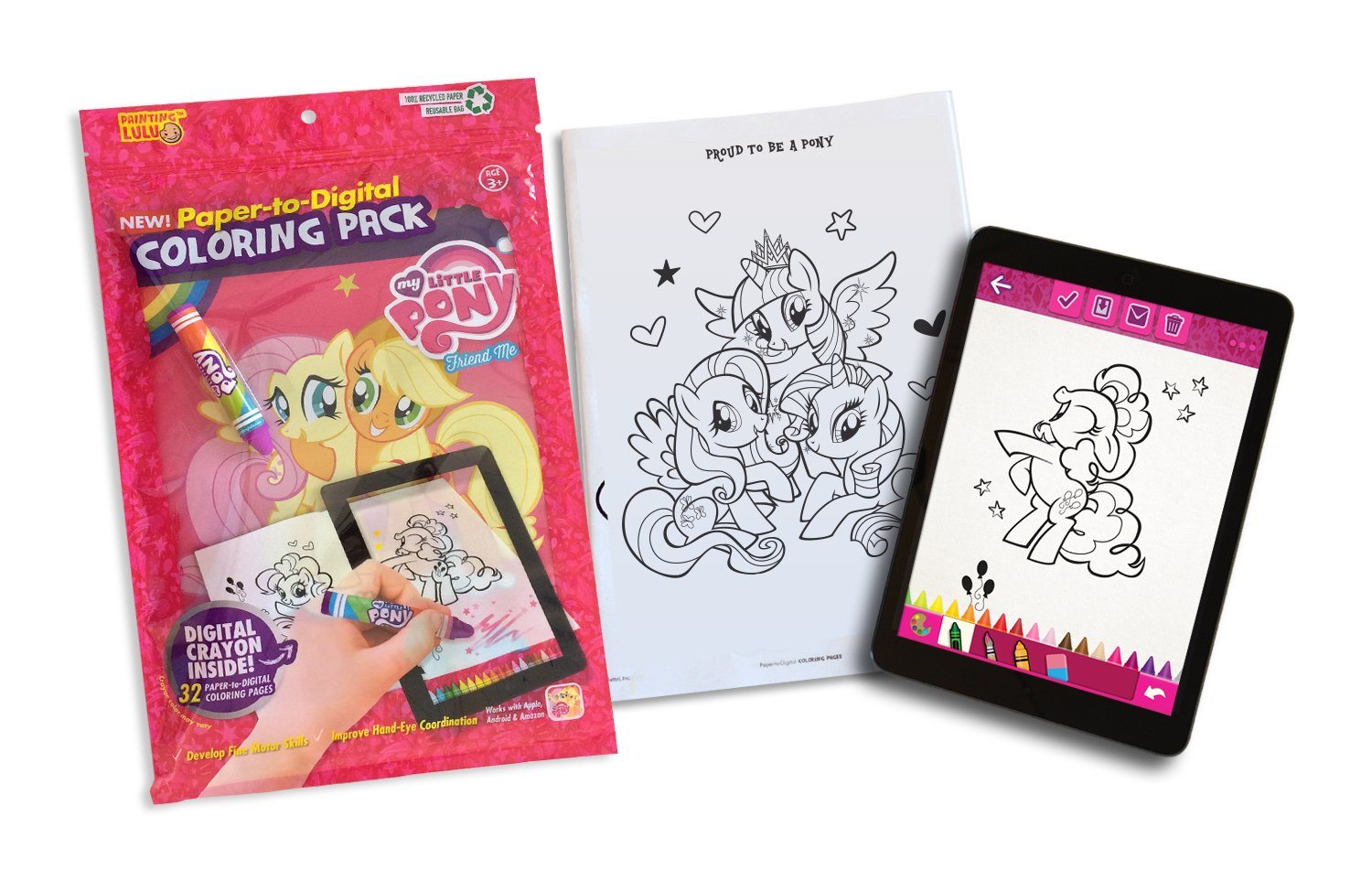 Product Description My Little Pony Coloring Book