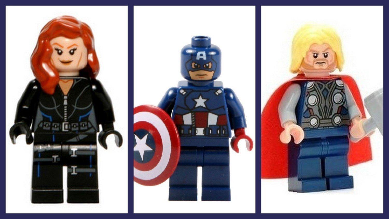 LEGO® Superheroes™ Avenger Team – Black Widow Thor & Captain America als Weihnachtsgeschenk