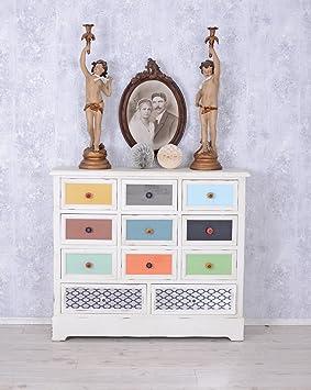 Kommode Shabby Chic Schubladenschrank Vintage Apothekerschrank Vintage Palazzo Exclusiv