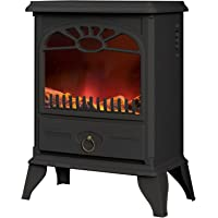 Warmlite WL46004 2000 W Log Effect Stove Fire