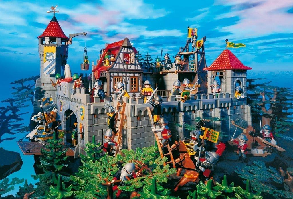 Schmidt Spiele – Playmobil Ritterburg mit Figur, 100 Teile Puzzle günstig als Geschenk kaufen