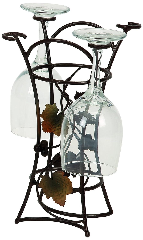 Wine Racks Metal Wine Glass Rack Holders Tabletop Storage