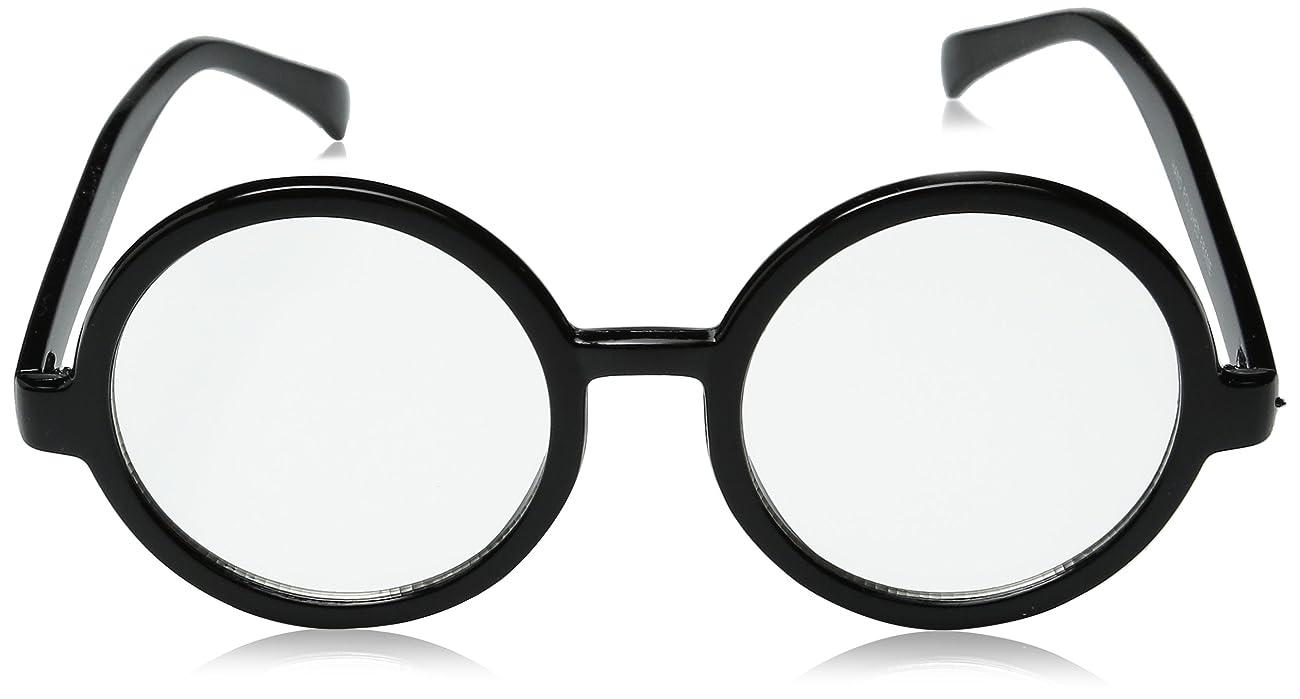 zeroUV - Vintage Inspired Eyewear Round Circle Clear Lens Glasses Eyeglasses 1
