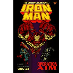 Iron Man 2: Operation A.I.M. by Greg Cox