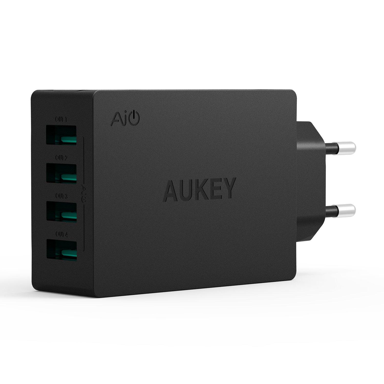 Cargador USB con 4 puertos