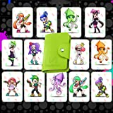 NFC Cards 13 PCS Game Tag Cards with Cards Holder for Splatoon 2 - Switch