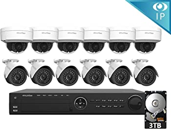 LaView 12 1080P IP 16-CH 1080P IP PoE NVR Security System