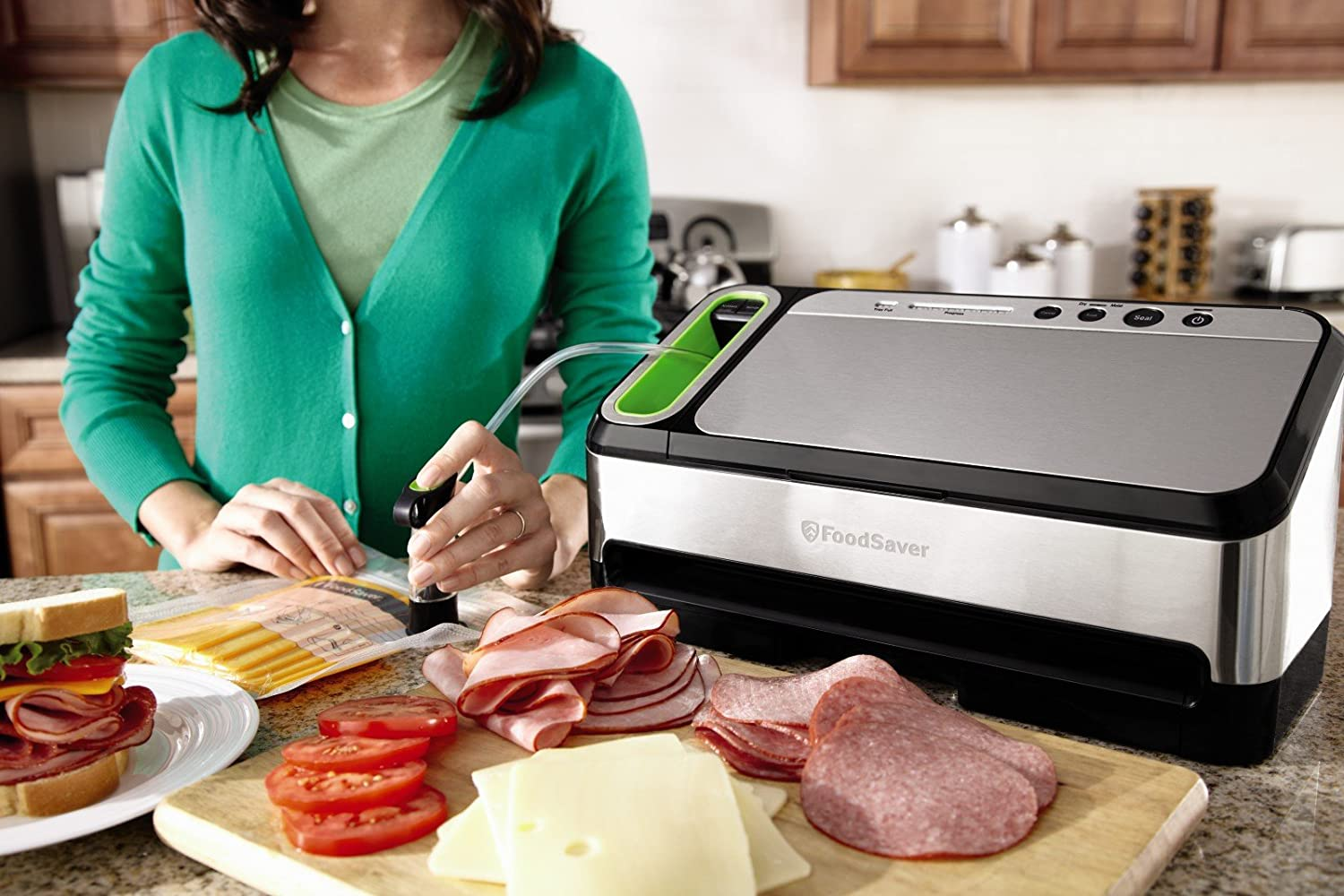 The FoodSaver 4840 performs brilliantly and is one of the best vacuum sealers under $200.