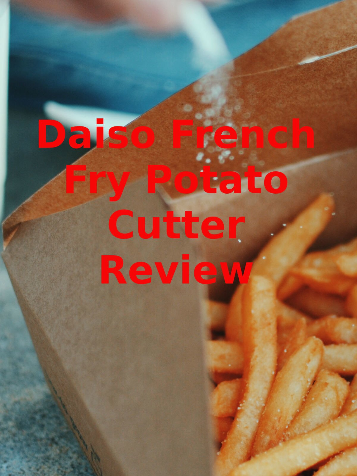 Review: Daiso French Fry Potato Cutter Review