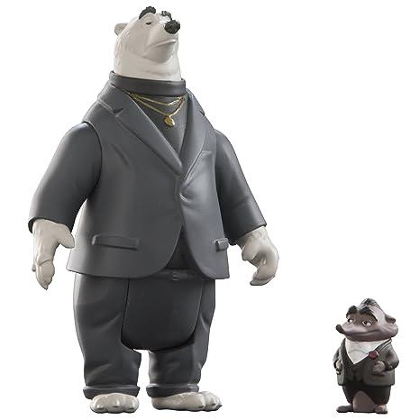 Tomy - L70003EU - Figurine Articulée - Kevin et Mr. Big - Zootopie