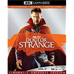 DOCTOR STRANGE [4K Ultra HD + Blu-ray]