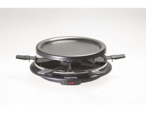 Toastess Party Grill and Raclette, 6 Person, Chrome: Amazon.ca: Home & Kitchen