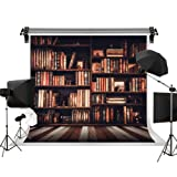 Kate 10x10ft/3x3m(W:3m H:3m) Wood Backdrops Bookshelf Books Retro Background Kids Photo Backgrounds Props Photographic Backgrounds Homecoming Day (Color: 4, Tamaño: 10x10ft)