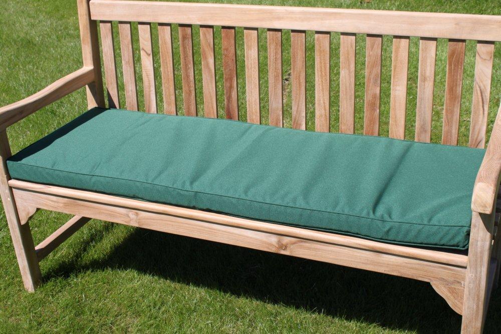 Gartenmöbel-Auflage - Auflage für 3-Sitzer-Gartenbank in Grün