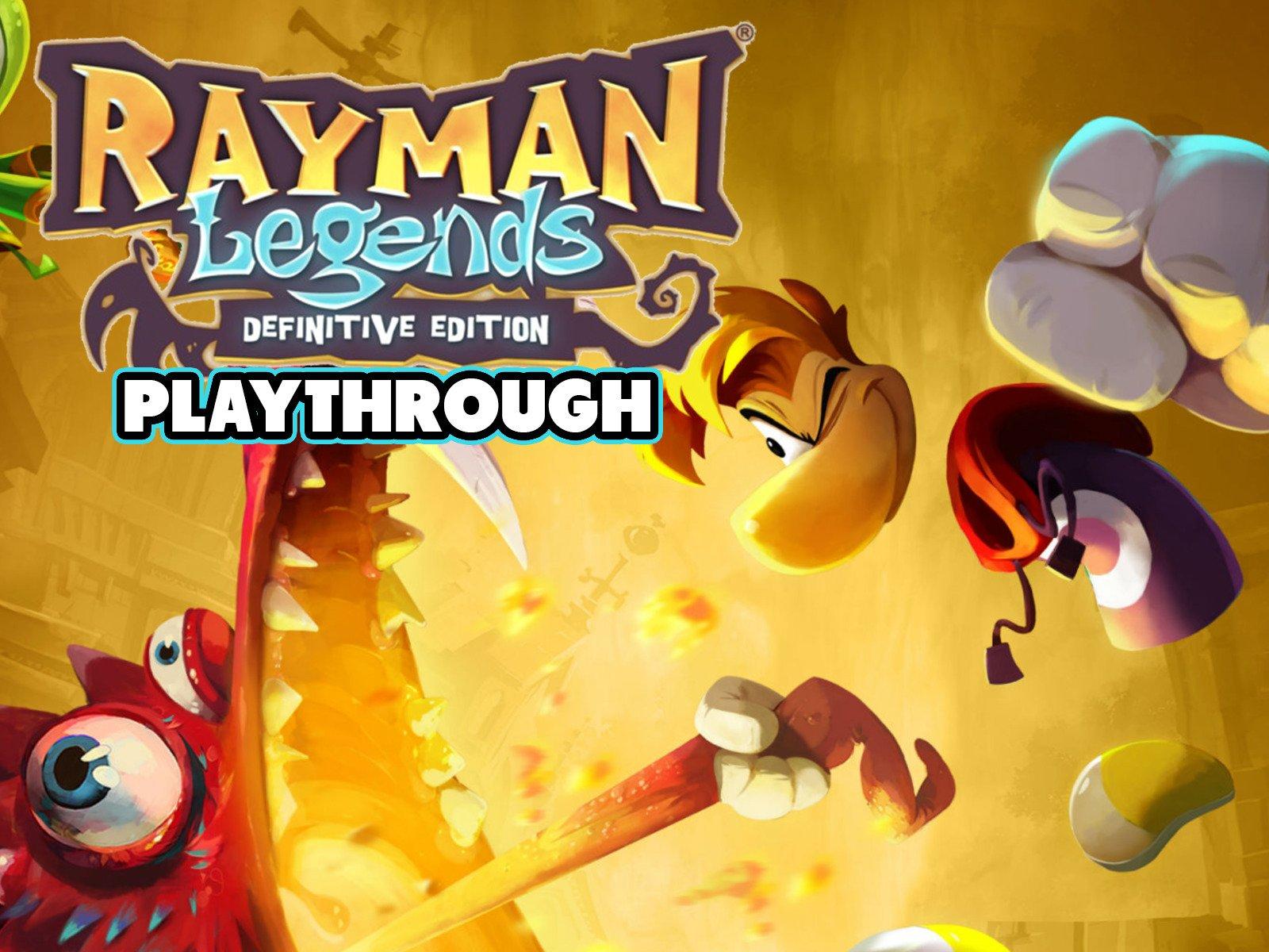 Clip: Rayman Legends Definitive Edition Playthrough - Season 1