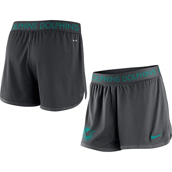 Nike Women's Miami Dolphins Ultimate Mesh Shorts
