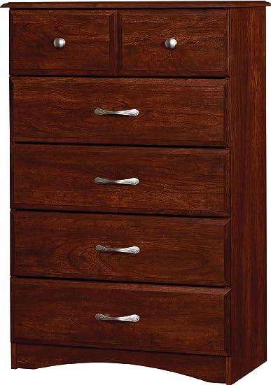 Essential Home Grayson 5 Drawer Dresser - Cherry
