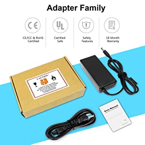 TECHEER 19V 3.42A 65W Laptop Charger Compatible with Toshiba Satellite A665 C55 C655 C850 C50 L755 C855D L655 L745 P50 C55D S55 PA3714U-1ACA PA3467U-1ACA PA3917U-1ACA 5.52.5mm