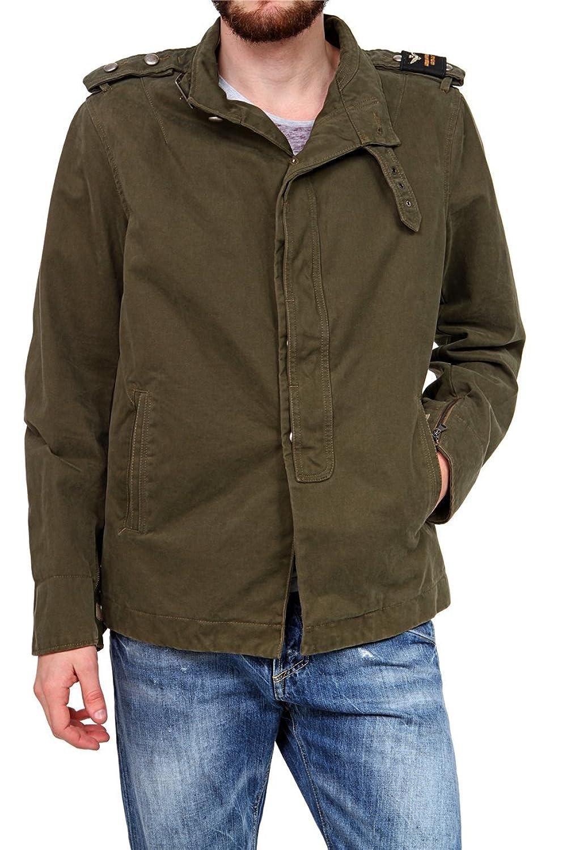 Aeronautica Militare Herren Jacke , Farbe: Dunkelgruen