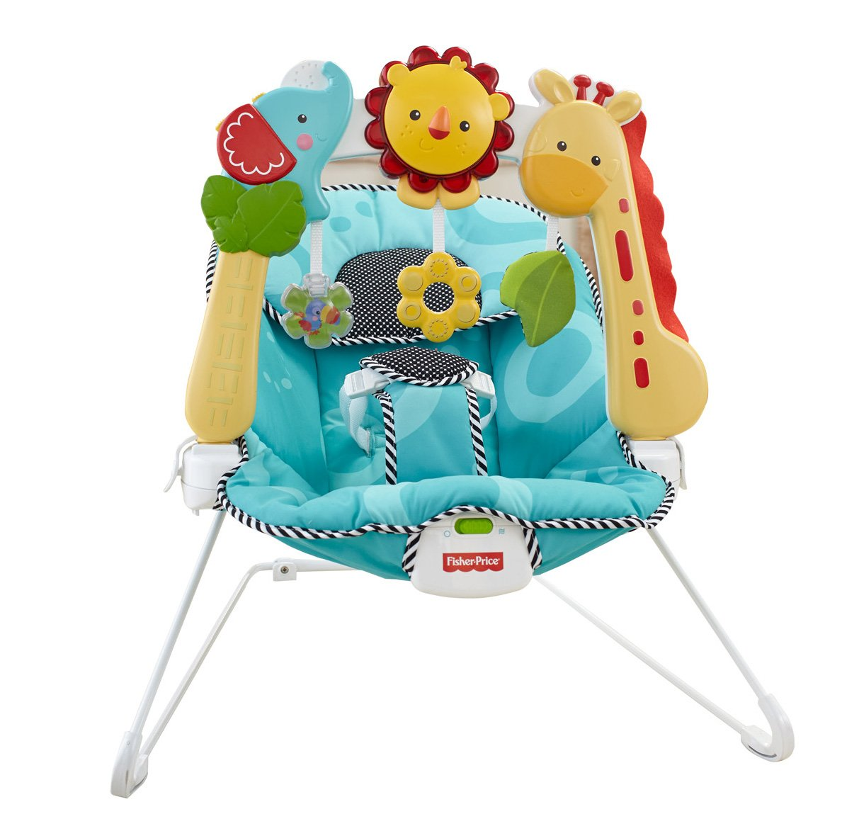 Fisher Price 2 in 1 Sensory Stages Bouncer