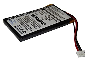 Navi Batterie Pile Accu 1100 mAh pour Magellan RoadMate 1200 Système de Navigation