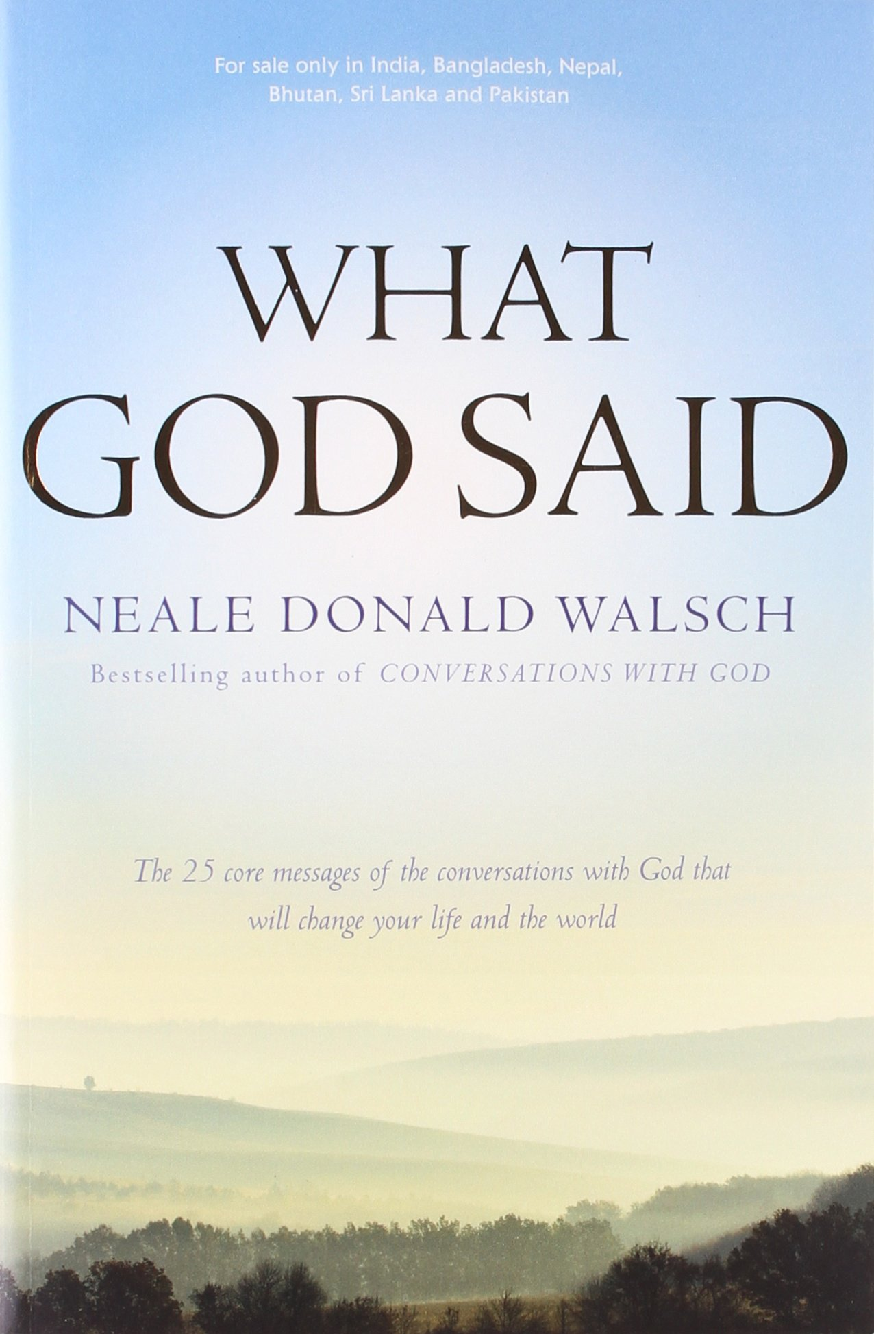 Buy What God Said Book Online At Low Prices In India  What God Said  Reviews & Ratings  Amazon