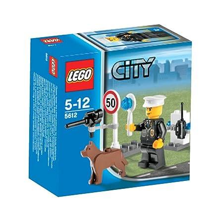 Lego - 5612 - City - Jeux de construction - Le policier
