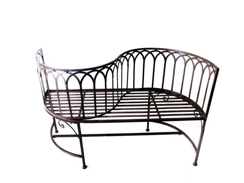 2-Sitzer Gartenbank Relax aus Eisen