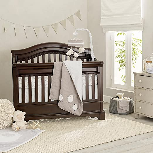 Lambs and Ivy Goodnight Sheep baby bedding