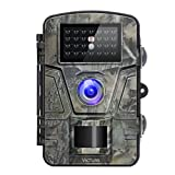 Victure Trail Game Camera Night Vision Motion Activated Hunting Cam 12MP 1080P 2.4