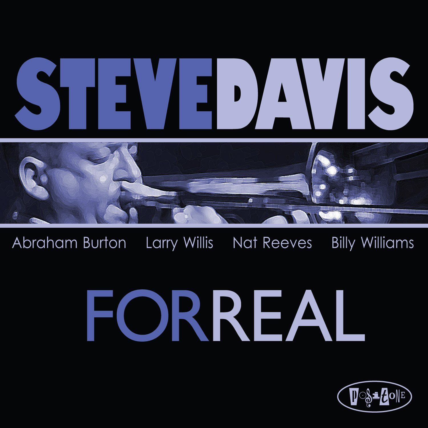 Steve Davis - For Real cover