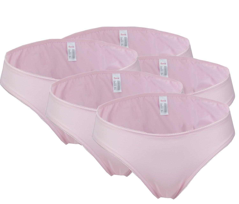 5er Pack Nuance Damen Slips rosa auch große Größen