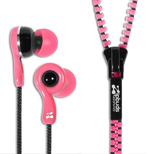 Zipbuds JUICED 2.0 Never Tangle Zipper Earbuds