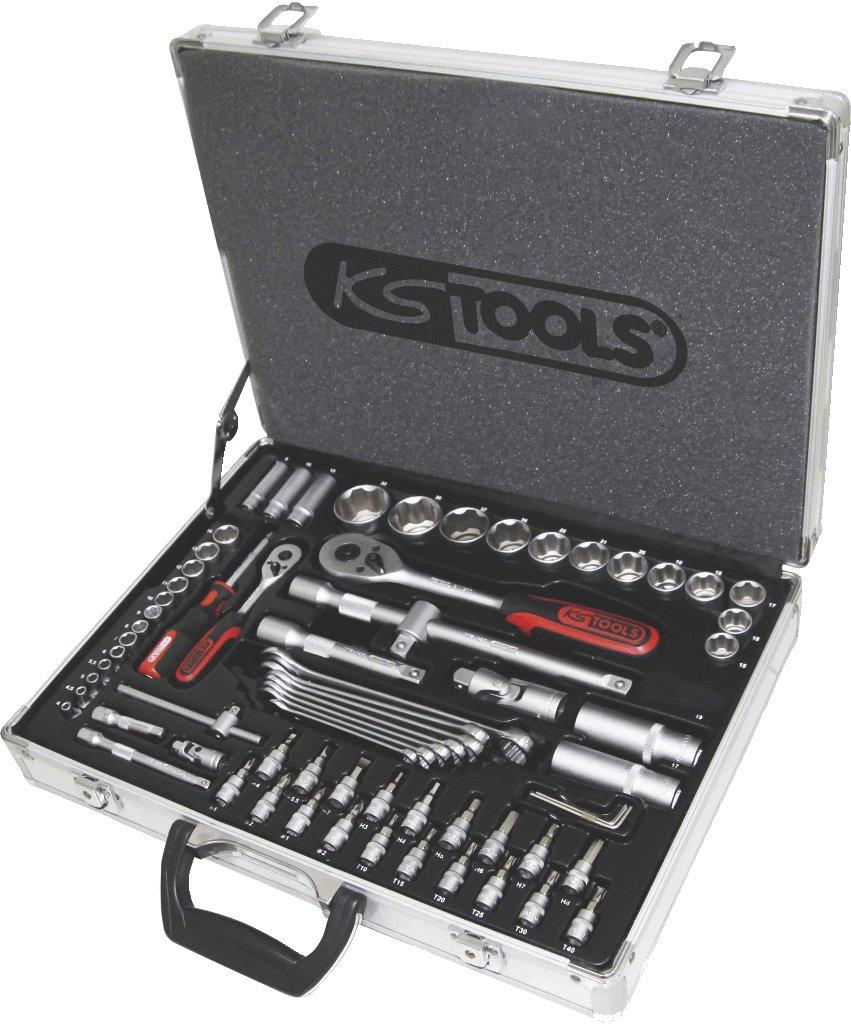 KS Tools 911.0670 1/4 +1/2 SUPERLOCK SteckschlüsselSatz, 70tlg.  BaumarktKritiken und weitere Infos