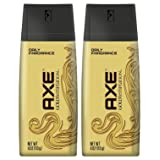 AXE Deodorant Bodyspray, Gold Temptation 4 oz (Pack of 2) (Tamaño: Pack of 8)