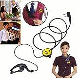 ShopSquare64 K Smiling Walkie Talkie Earphone Headset Two Eay Radio for Kenwood Baofeng BF-UV5R BF888S Universal
