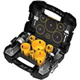 DEWALT D180002 Standard Electricians Bi-Metal Hole Saw Kit (Color: Yellow)