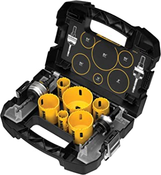 DeWalt 9-Piece Standard Electricians Bi-Metal Hole Saw Kit