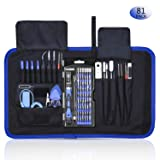 Rarlight Screwdriver Set with Magnetic Driver Kit, Professional Electronics Repair Tool Kit with Portable Oxford Bag for Laptop, iPhone, iPad, Cellphone, Watch, PC, Computer, Camera (Tamaño: MI)