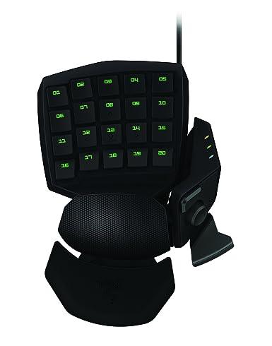 海淘金丝魔蛛键盘:Razer Orbweaver金丝魔蛛机械式游戏专用键盘