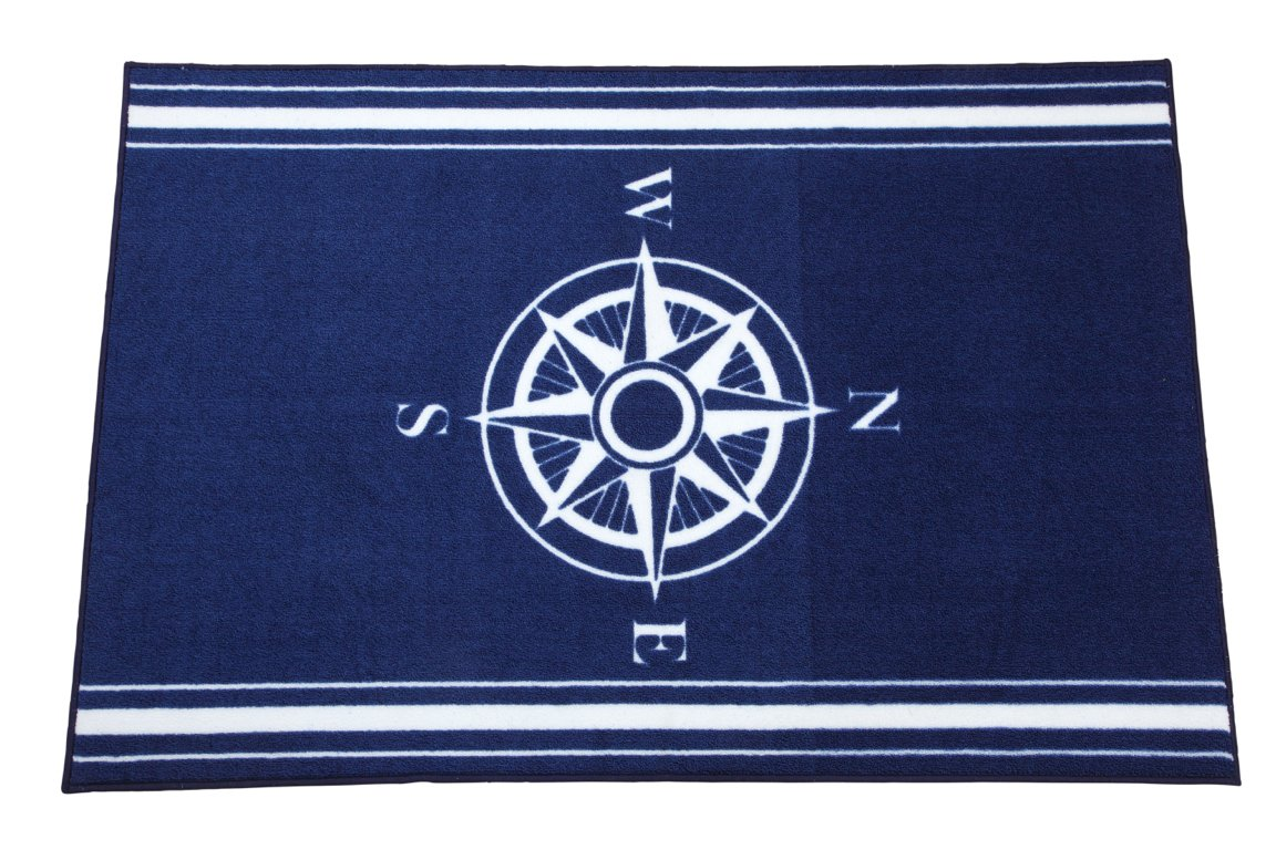 Nautical rugs for bathroom - Nautical Rugs For Decorating Home With Beach Theme